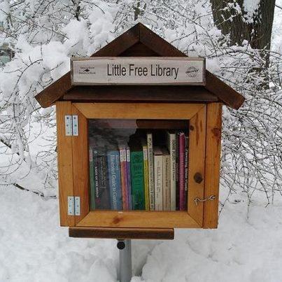 Böcker, inte bomber