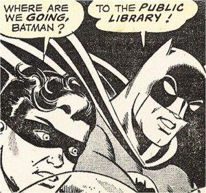 batman bibliotek