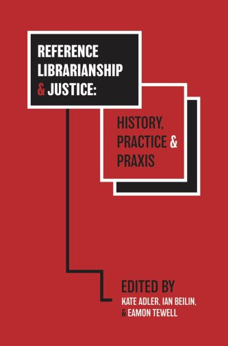 Omslag Reference Librarianship and Justice