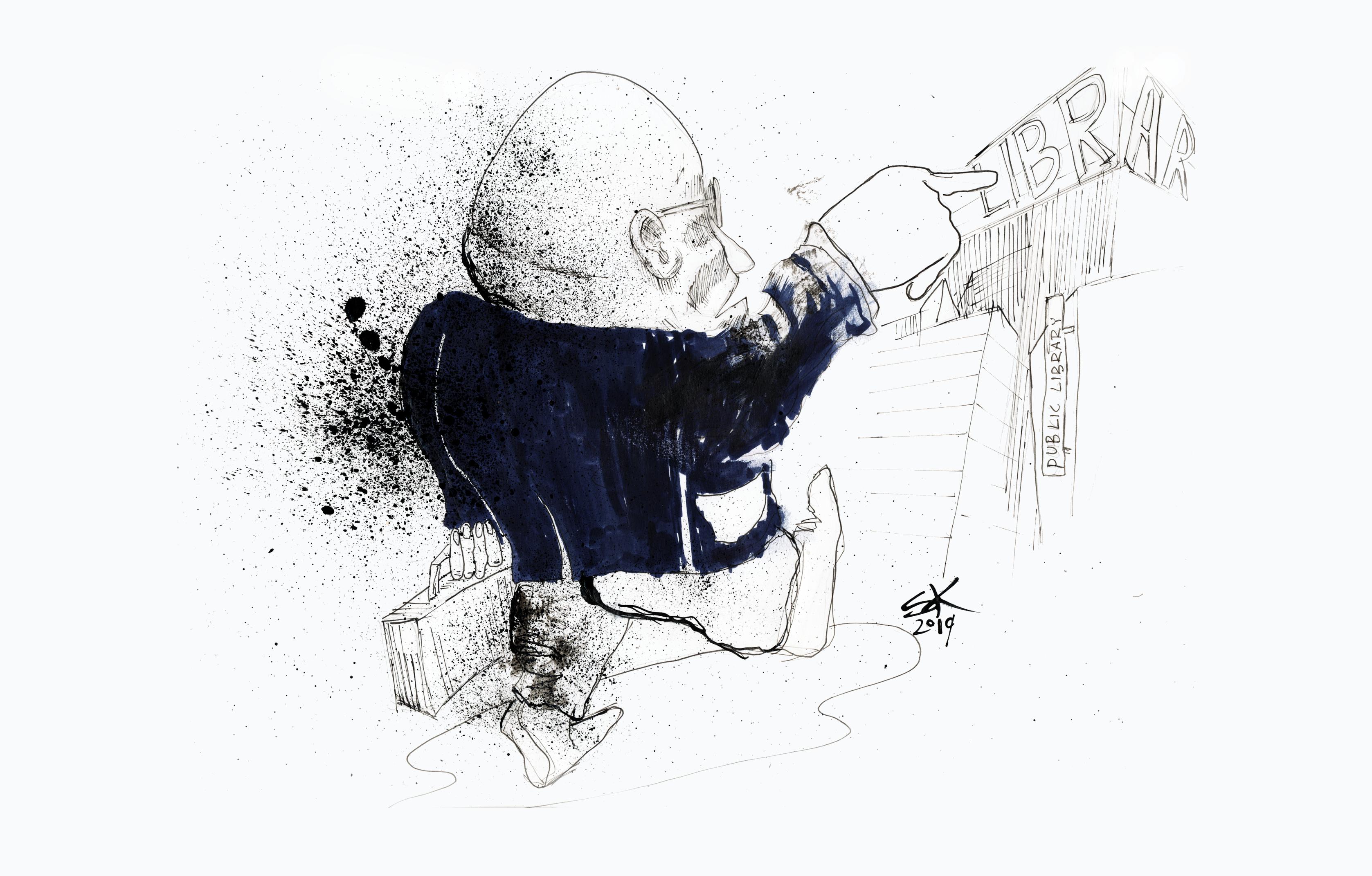 Privatisering illustration av Stellan Klint